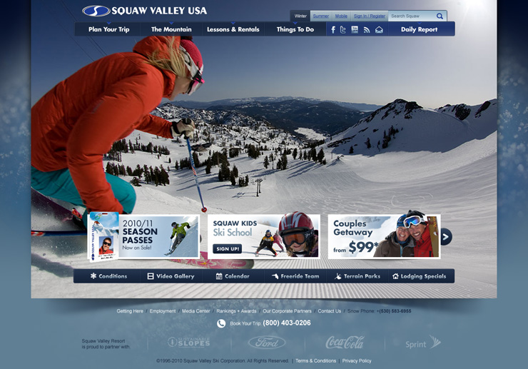 Squaw Valley Home Page