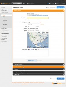 Resmark Systems Reservation Back Office UI