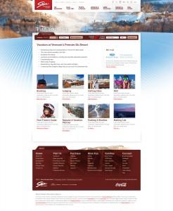 Stowe Landing Page