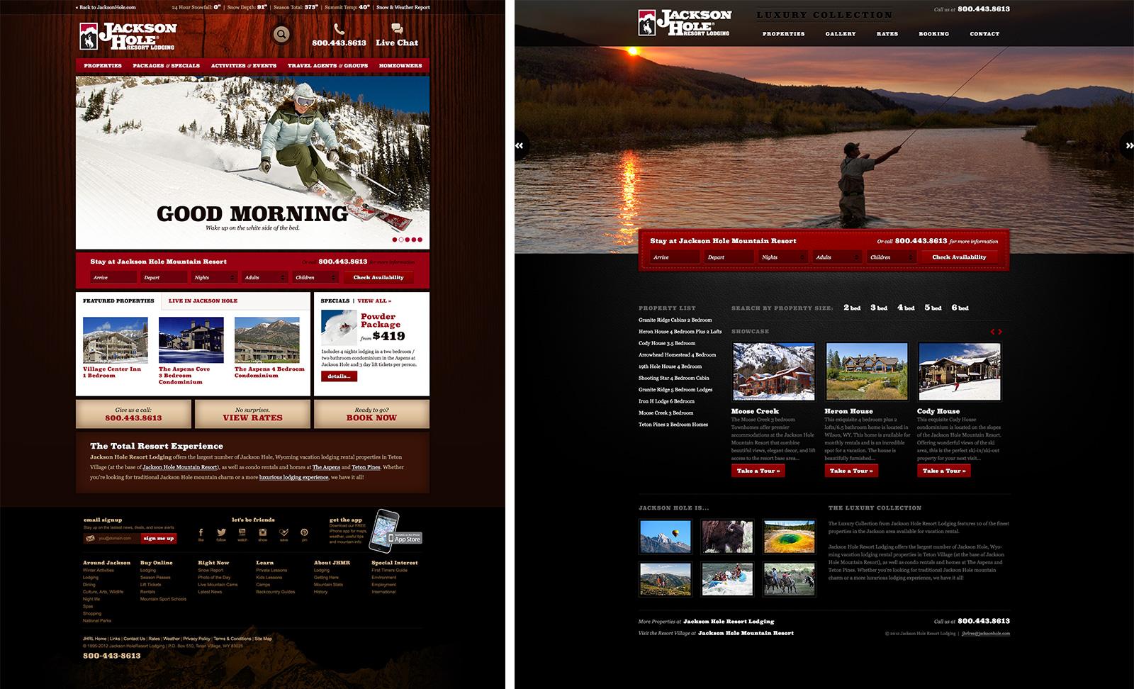 Jackson Hole Mountain Resort Website and Branding Design – Sample Html Email